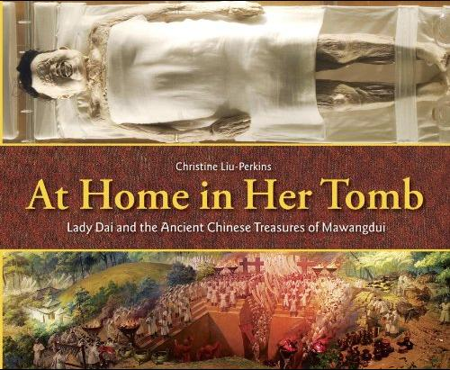 At Home in Her Tomb cover